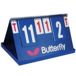 Marcador League da Butterfly na Patacho Ténis de Mesa