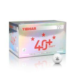 Bolas 40 + Syntt 3 Estrelas da Tibhar na Patacho Ténis de Mesa