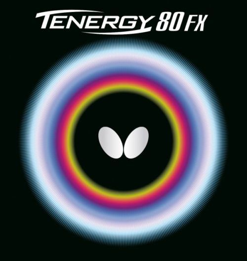 Tenergy 80 FX da Butterfly na Patacho Ténis de Mesa