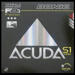 Acuda S1 Turbo da Donic na Patacho Ténis de Mesa
