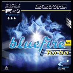 Blue Fire M1 Turbo da Donic na Patacho Ténis de Mesa