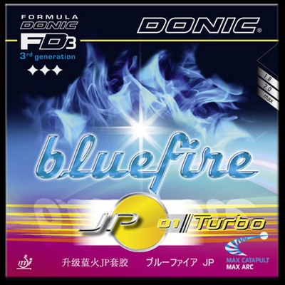 Blue Fire JP1 Turbo da Donic na Patacho Ténis de Mesa