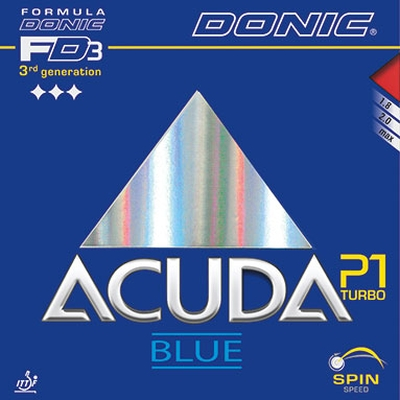 Acuda Blue P1 Turbo da Donic na Patacho Ténis de Mesa