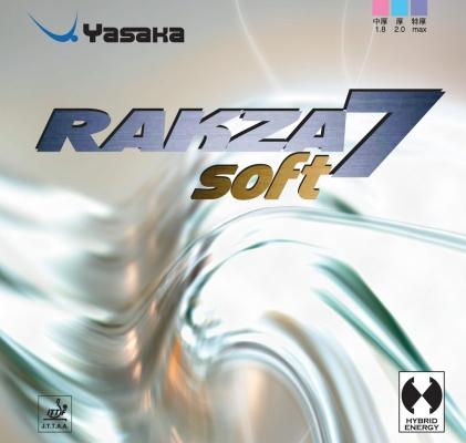 Rakza 7 Soft da Yasaka na Patacho Ténis de Mesa