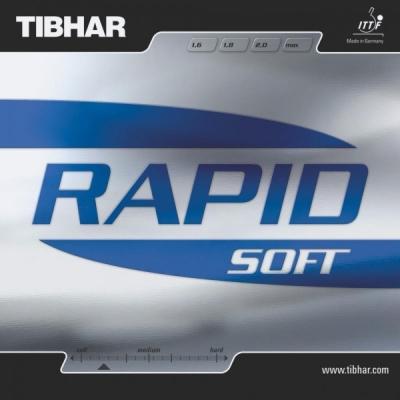 Rapid Soft da Tibhar na Patacho Ténis de Mesa