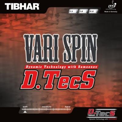 Vari Spin D.Tecs da Tibhar na Patacho Ténis de Mesa