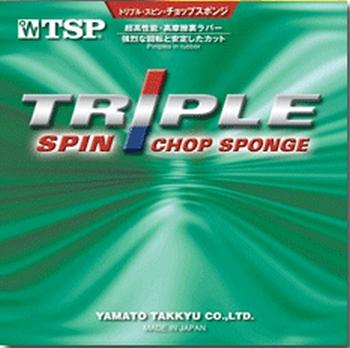 Triple Spin Chop da Tsp na Patacho Ténis de Mesa