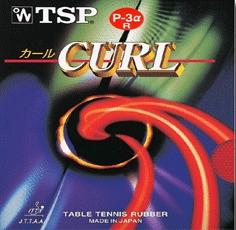 Curl P3 Alpha R da Tsp na Patacho Ténis de Mesa