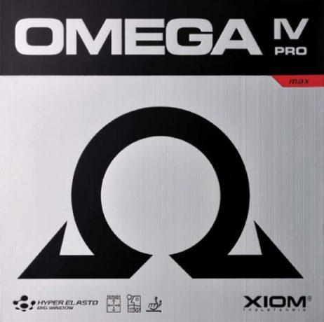Omega IV Pro da Xiom na Patacho Ténis de Mesa