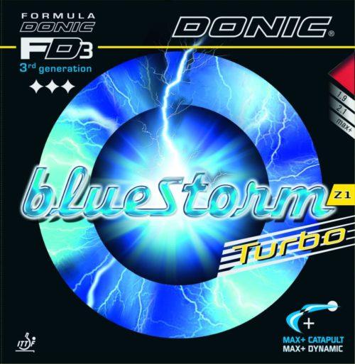 Bluestorm Z1 Turbo da Donic na Patacho Ténis de Mesa