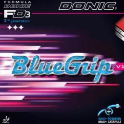 Bluegrip V1 da Donic na Patacho Ténis de Mesa